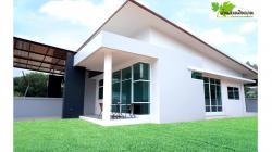 บ้านสวนอยู่สบาย บ้านสวนดินลานเฟส3  100 ตารางวา จังหวัดสงขลา ใกล้สถานีรถไฟดินลาน