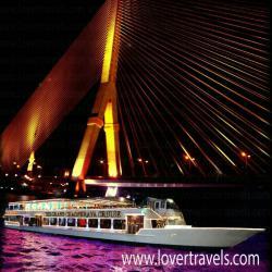 รับจองเรือดินเนอร์ เรือเจ้าพระยาครุยส์ เรือล่องแม่น้ำเจ้าพระยา ราคาพิเศษ !!!