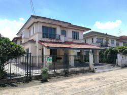 ขายบ้านเดี่ยว 2ชั้น หมู่บ้านมัณฑนา ซอยวัดพระเงิน 80.80ตรว. 271ตรม.