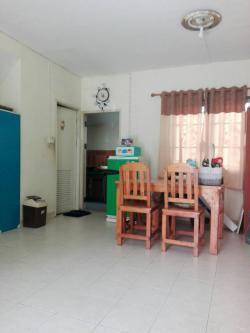 ขายบ้านราคาถูก(ราคาทุน) บ้านแฝด2 ชั้น หมู่บ้านพฤกษา 36/1 ซอย12 ถนนลาดกระบัง ใกล้สนามบินสุวรรณภูมิ