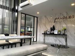 For Rent ให้เช่าคอนโด Pause103 ใกล้ BTS อุดมสุข เดินทางสะดวก 25.80 ตร.ม. ชั้น 8