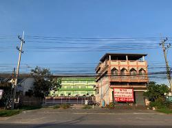 ตึกแถว อาคารพาณิชย์ พัทยา พร้อมที่ดิน ทำเลดีติดถนนสุขุมวิท พัทยา-สัตหีบ