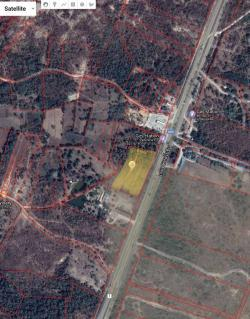 ขายที่ดินติดถนนใหญ่ จ.ตาก (ถนน พหลโยธิน) 10 ไร่ 3 งาน 96 ตร.วา หน้ากว้าง 169 เมตร