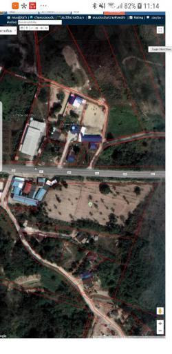 ขายที่ดิน หนองขาม 9-1-31 ศรีราชา ชลบุรี ติดถนน