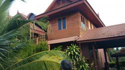 ขายบ้านทรงไทยประยุกต์ 2 ชั้น และอาคารอื่นๆอีก 2 หลัง เนื้อที่ 3 ไร่ 1 งาน 59 ตารางวา ใกล้เพชรเกษมและ ร.ร นายร้อยตำรวจสามพราน จ.นครปฐม ติดต่อ 093-793-1116