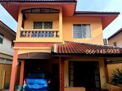 ขายบ้านเดี่ยวคลอง7 รังสิต-นครนายก ราคาถูก 50 ตรว 3นอน 2น้ำ ต.รังสิต อ.ธัญบุรี ปทุมธานี