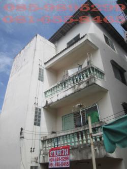 ขายอาคารพาณิชย์ เป็นหอพัก 4 ชั้น 8 นอน 4 น้ำ ซอยกรุงเทพ-นนทบุรี 37