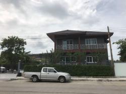 ขายบ้านเดี่ยว 2 ชั้น หน้าทางเข้าหมู่บ้านพรธิสาร 6 ต.หนองเสือ อ.ธัญบุรี จ.ปทุมธานี