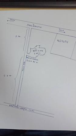 ขายที่ดินขนาดใหญ่ติดถนนทางหลวงชนบท (นม.1056) โซนสีม่วง พร้อมโอน ราคาถูกสุดในย่านนี้