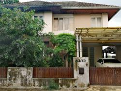 ขายบ้านเดี่ยว 2 ชั้น หมู่บ้านเนเชอร์วิล ซ.สามวา 2 มีนบุรี 3 ห้องนอน 60 ตร.ว. บ้านสวยน่าอยู่ ร่มรื่น
