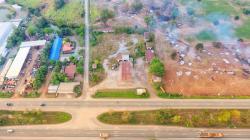 ขายที่ดินติดถนน 304 นครราชสีมา-กบินทร์บุรี ฝั่งเข้าตัวเมือง ใกล้ รพ.ปักธงชัย ติดกับถนนสี่แยก 304 /24