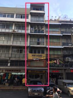 ให้เช่าอาคารพาณิชย์ทั้งตึก 1 คูหา 7 ชั้น มีชั้นลอย มีดาดฟ้า 4 ห้องน้ำ ราชปรารภ1 เขตราชเทวี โทร 081-8245232