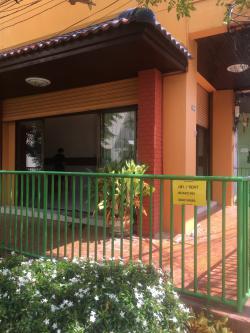 ให้เช่าอาคารพาณิชย์ ตกแต่งพร้อม มีสวนสวยธรรมชาติ โทร 0626491982