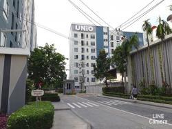 ขาย ยูนิโอ คอนโด จรัญฯ 3 ใกล้ MRT บางไผ่ ท่าพระ และ BTS บางพลู ตึกบี ชั้น2