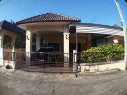 ขายบ้านแฝด ชั้นเดียว ม.เอ็กซ์เซล 3 ปลวกแดง 37.5 ตรว. ใกล้โลตัสบ่อวิน