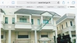 ทาวน์โฮม 3 ชั้นให้เช่า 2 หลังห้องริม เหมาะทำ office/ อยู่อาศัย ใกล้รถไฟฟ้าคลองไผ่ นนทบุรี โทร 081-8092177