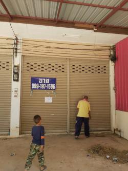 ขายอาคารพาณิชย์ 2 ชั้นครึ่ง 1ห้องนอน 2ห้องน้ำ เหมาะสำหรับทำธุรกิจ อำเภอลานสัก อุทัยธานี