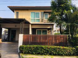 ให้เช่าด่วน บ้านเดี่ยว 2 ชั้น หมู่บ้านวิลเลจจิโอ พระราม 2 แปลงหัวมุม ตกแต่งพร้อมเข้าอยู่ บ้านสวยสภาพดี