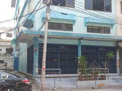 ขาย อาคารพาณิชย์ 3.5 ชั้น 2 คูหาติดกันตีทะลุ ห้องมุม ดีเค 22 หมู่บ้านดีเค บางบอน พื้นที่ 48.6 ตารางวา