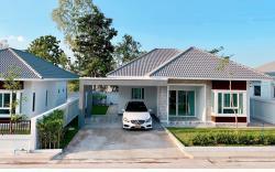บ้านเดี่ยว 1 ชั้น โครงการบ้านจัดสรรดาราสิริ 3นอน 2น้ำ จอดรถได้ 2 คัน จังหวัดเลย