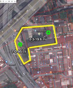 ขาย ที่ดิน ทำเลธุรกิจ ผืนงามต้นถนนจรัญสนิทวงค์ เขตบางพลัด กรุงเทพฯ