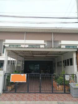 ขายทาวน์เฮ้าส์ 2 ชั้น 25 ตารางวา โครงการโมดิวิลล่า บางบัวทอง นนทบุรี