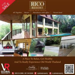 FOR SALE Rico Resort – Chiang Kham, Phayao Province