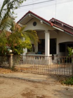 ขายบ้านเดี่ยวชั้นเดียว หมู่บ้านพิบูลธานี