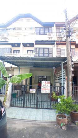 ขาย ทาวน์เฮาส์ 3 ชั้น หมู่บ้านอู่ทองเพลส โครงการ2 เนื้อที่ 18 ตร.วา พร้อมเฟอร์