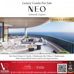 Luxury Condo For Sale NEO Limassol Limassol, Cyprus