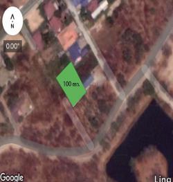 ขายที่ดินเปล่า 100 ตร.ว ที่ดินจัดสรร ต.หนองปลาไหล เมืองสระบุรี