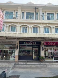 ขายอาคารพาณิชย์ 3 ชั้น  ตำบลหน้าเมือง อำเภอเมือง จังหวัดราชบุรี