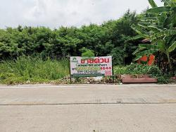 ขายด่วน ที่ดินเปล่า ซอย นายตึ๋ง เนื้อที่ 50 ตร.ว ศาลากลาง นนทบุรี ทำเลดี ติดถนน