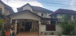 ขายบ้านเดี่ยว ราคาถูกสุดคุ้ม!! 3.7 ล้าน (เจ้าของขายเอง คุยกันได้) หมู่บ้านตะวันนา ถ.สุขาภิบาล5 ซ.จตุโชติ 12