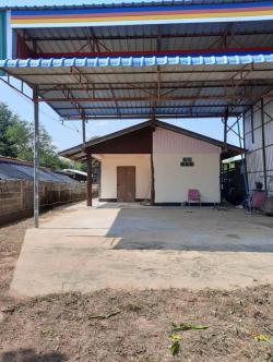 ขายบ้านเดี่ยว หลังตลาดเทศบาล อ.เลิงนกทา จ.ยโสธร 85 ตรว. 3 ห้องนอน 1 ห้องน้ำ