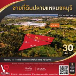 ขายที่ดินปลายแหลมชลบุรี 11-1-28 ไร่ เหมาะแก่การสร้างโรงงาน, ที่อยู่อาศัย