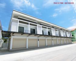 ขายอาคารพาณิชย์ ตึกแถว 2ชั้น ทำเลสุดฮิตในอมตะ ชลบุรี ยูนิตสุดท้าย ราคาทาวน์โฮม