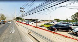 ที่ดิน 7-0-05 ไร่ ติดถนนคลองหลวง หน้าวัดพระธรรมกาย  คลองหลวง ปทุมธานี