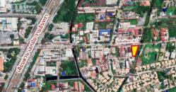 ขายที่ดิน ในซอยโยธินพัฒนา7 ขนาด 238 ตรว. แปลงสวย เลียบทางด่วนเอกมัย-รามอินทรา (ถนนประดิษฐ์มนูญธรรม) บางกะปิ กทม