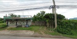 ขายที่ดินริมถนนเพชรเกษม เนื้อที่ 256 ตร.วา หน้ากว้างประมาณ 32 ม.