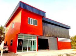 ขายที่ดิน พร้อมโรงงานใหม่ เฟสใหม่ปิ่นทองแลนด์แฟคทอรี่ นนทบุรี ถนนบางบัวทอง-สุพรรณบุรี