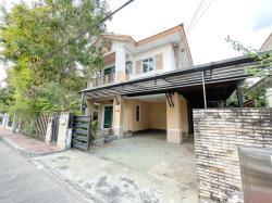 ขายบ้าน สราญสิริ ราชพฤกษ์ - แจ้งวัฒนะ ติดถนนราชพฤกษ์ ราคาเพียง 4.35 ล้าน