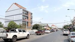 ขายอาคารพาณิชย์ 4 ชั้นพร้อมที่ดิน ตลาดเจ้าพรหม อยุธยา เป็นตึกสร้างใหม่