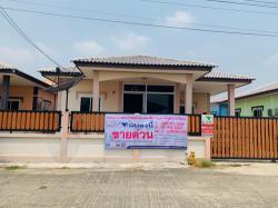 ขายบ้านเดี่ยวชั้นเดี่ยว 53 ตรว.หมู่บ้านเข็มทองวิลเลจ  อ.เมือง จ.ลพบุรี