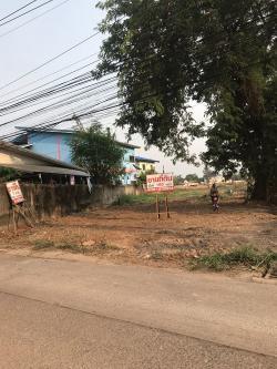 ขายที่ดิน ทำเลดีติดถนน อยู่ใกล้หอพักและหมู่บ้าน อ.เมือง จ.อุดรธานี