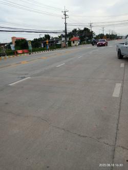 ขายที่ดิน 1 ไร่เศษ  ติดถนนดอนสีนนท์-แหลมประดู่ (3304) อ.บ้านโพธ์  จ.ฉะเชิงเทรา