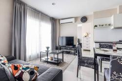 คอนโด 2 ห้องนอน คอนโดแอสไปร์ 48 BTS พระโขนง Rent Beautiful 2Bedroom at Aspire 48 BTS Phrakhanong