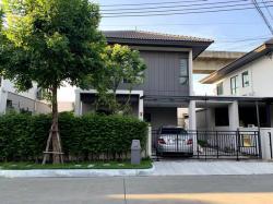 ให้เช่า-ขาย บ้านกลางเมือง The Edition พระราม 9- อ่อนนุช 2 กิโลเมตรจากสถานีรถไฟฟ้า Airport Link บ้านทับช้าง