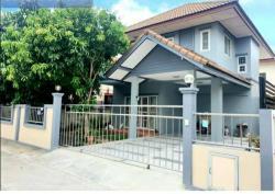 ขายบ้านเดี่ยว 2 ชั้น หมู่บ้านซื่อตรงโคซี่ บางบัวทอง เฟส3 นนทบุรี โทร 086 991 9419