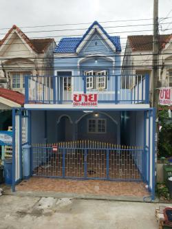 ขายบ้านเดี่ยว หมู่บ้านนันทวันเซนต์ 1 รีโนเวทใหม่ ฟรีดาวน์ ฟรีประเมิน จัดกู้ให้ฟรี